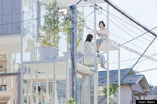 House NA / Sou Fujimoto Architects | HuffPost