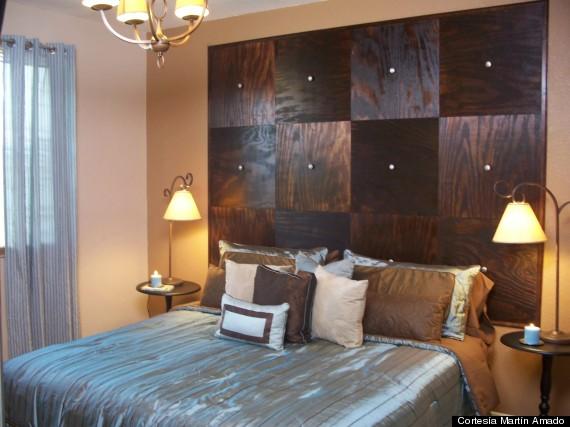 Cabeceras para la cama ideas econ micas fotos huffpost for Camas en madera economicas