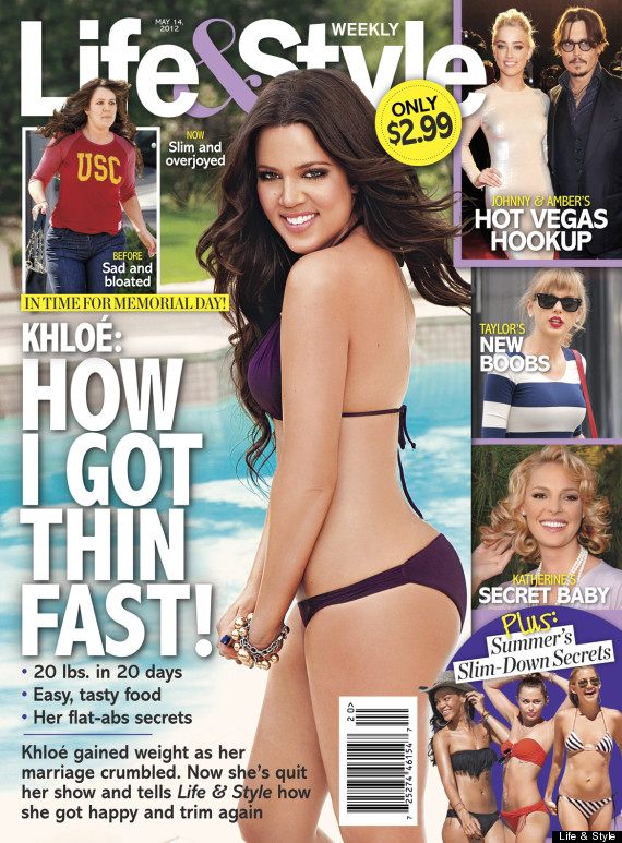 Khloe Kardashian Weight Loss: Stars Who've Slimmed Down