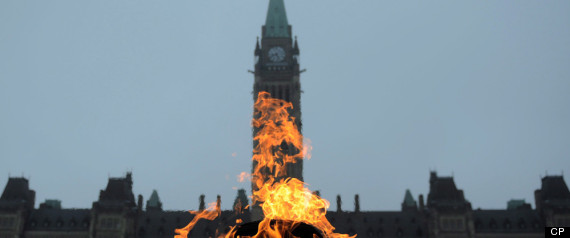 PARLIAMENT HILL OCCUPY PROTEST