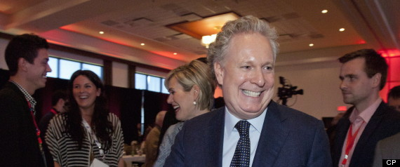 JEAN CHAREST QUEBEC LIBERAL CONVENTION