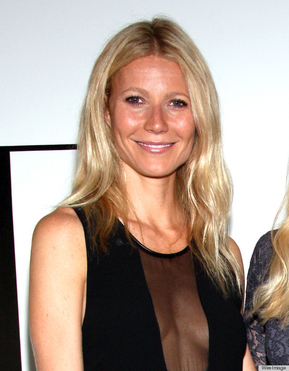 gwyneth paltrow sideboob