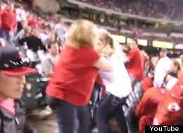 Angels Fans Fight