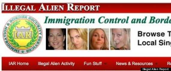 ILLEGAL ALIEN REPORT WEBSITE