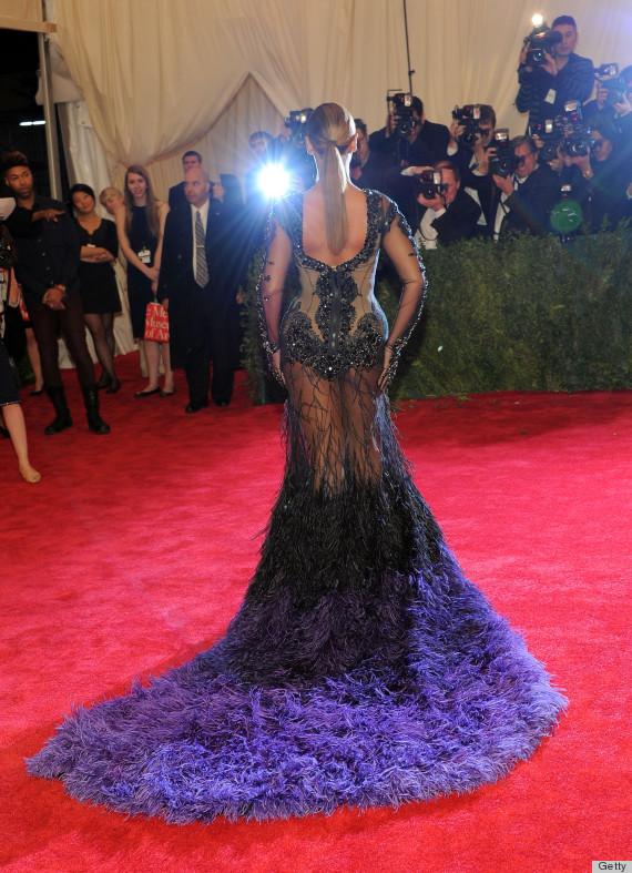 beyonce met gala 2012