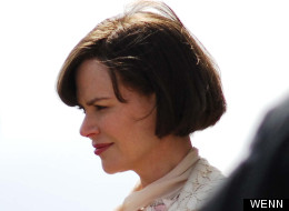Nicole Kidman Filming The Railway Man