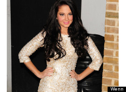 Tulisa Celebrates Her Number One Single