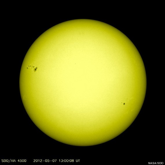 massive sunspot