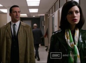 Mad Men Season 5, Episode 8 Style Recap: The Trench Of