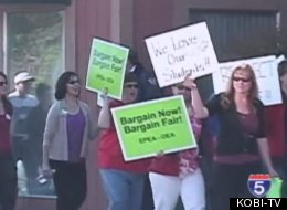Oregon Teachers Strike