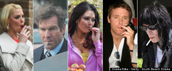 Celebrities Electronic Cigarettes