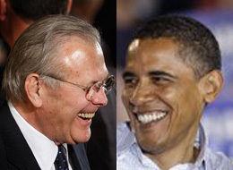 Rumsfeld Obama