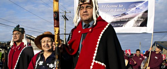 Northern Gateway Pipeline First Nations