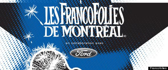 FRANCOFOLIES AFFICHE