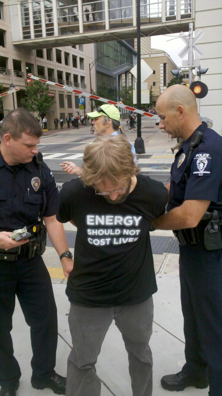 occupy arrest