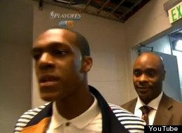 Rondo Confronts Cameraman After Boston Loss