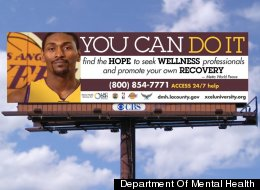 Metta World Peace Billboard