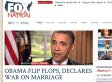 Obama Backs Gay Marriage: Fox Nation's 'War On Marriage' Headline Gets Parodied (PICTURES)