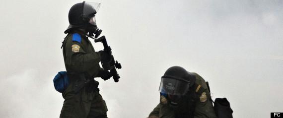 POLICIER MANIFESTATION TEMOIGNAGE