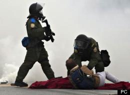 témoignage policier manifestation
