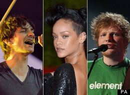 PHOTOS: 10 Most-Streamed Artists Of 2012