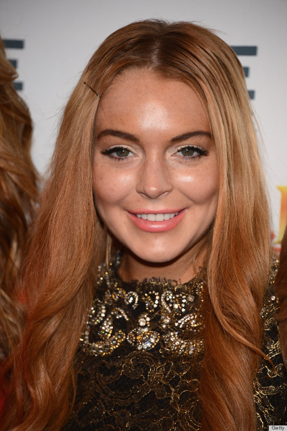 lindsay lohan eyebrows