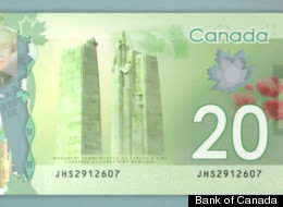 Canadian 20 Bill Twin Towers Naked Women