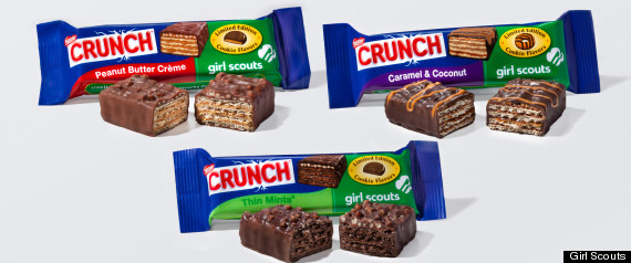 GIRL SCOUT CANDY BAR