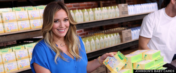 HILARY DUFF MOTHERS DAY