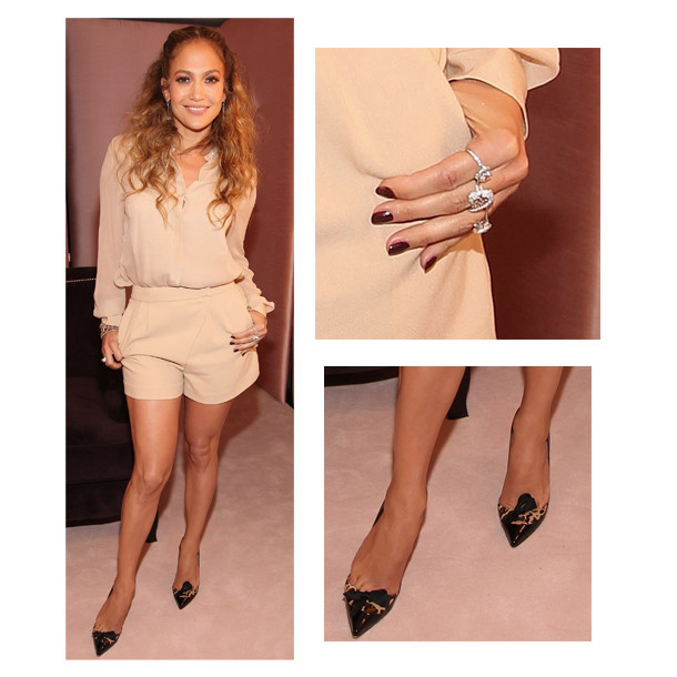 Jennifer Lopez's Nude Outfit: Look Of The Day | HuffPost Life