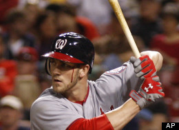 Bryce Harper Bat Injured