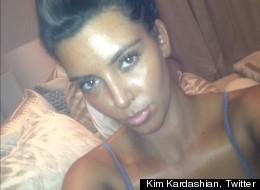 Kim Kardashian Goes Tanorexic
