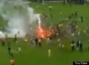 WATCH: Turkish Soccer Fans Riot After Championship Game