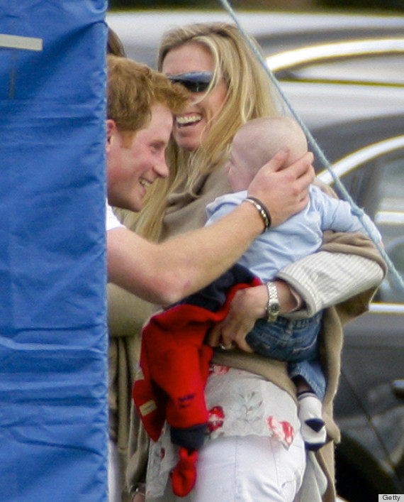Prince Harry & Prince William Polo Match Includes A Cute
