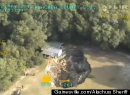 LOOK: Another GIANT Sinkhole Forces Out Florida Family