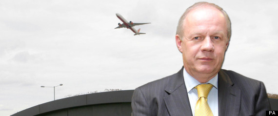 DAMIAN GREEN HEATHROW