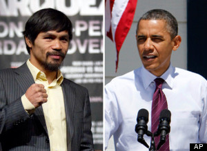 Pacquiao Opposes Obama On Gay Marriage