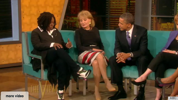whoopi goldberg shoes obama