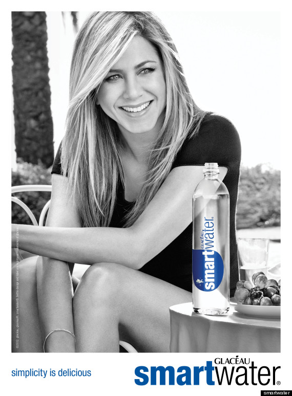 Jennifer Aniston's Smartwater Print Ads Released (PHOTOS ...