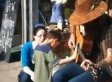 Jacob, Blind Boy With Autism, Feels Music Of Street Musician Tyler Gregory (VIDEO)
