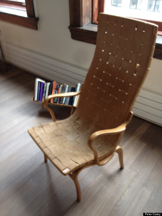 carey reading chair