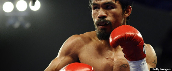 MANNY PACQUIAO BANNED