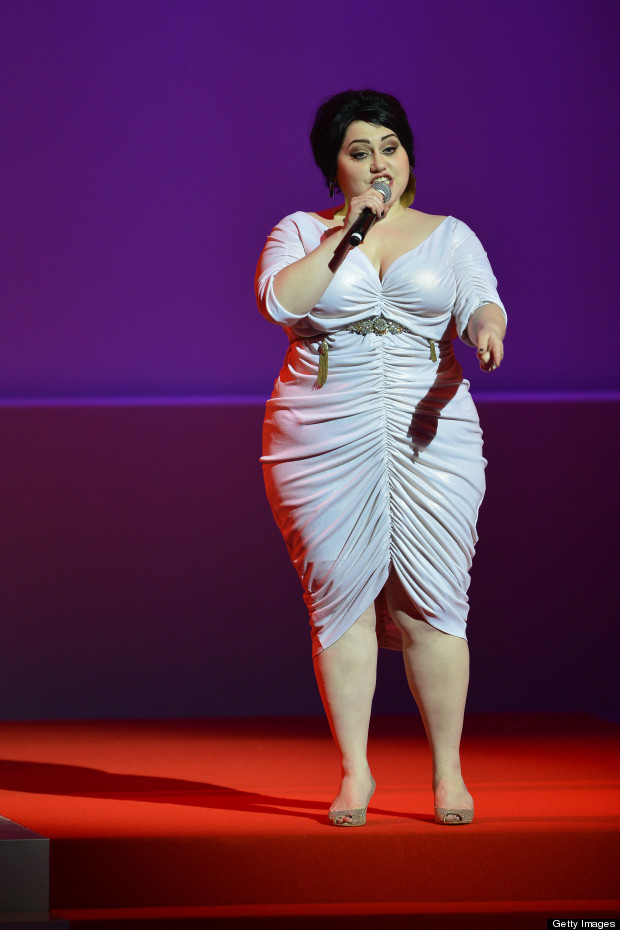 beth ditto cannes white dress