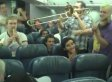 Lemon Bucket Orkestra Plays For Passengers On Delayed Air Canada Flight (VIDEO)