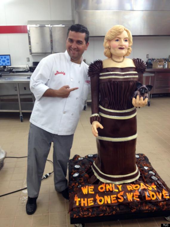 Cake Boss Betty White Cake