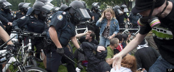 TORONTO POLICE G20