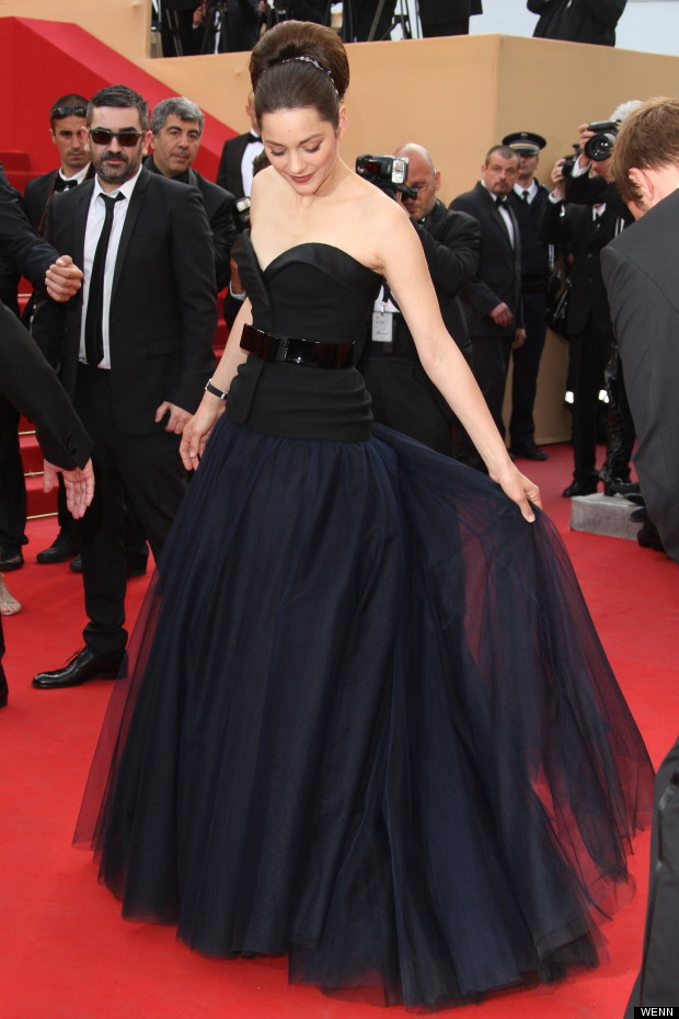 marion cotillard dior couture