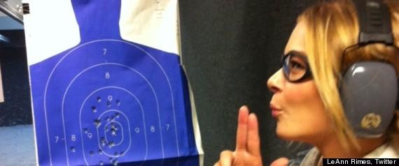 LEANN RIMES GUN
