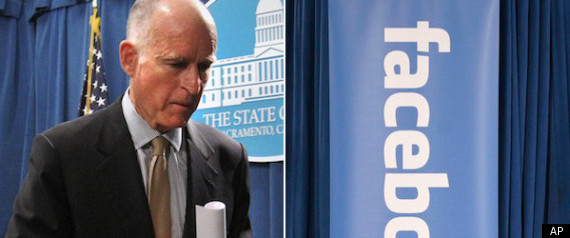 Jerry Brown Facebook