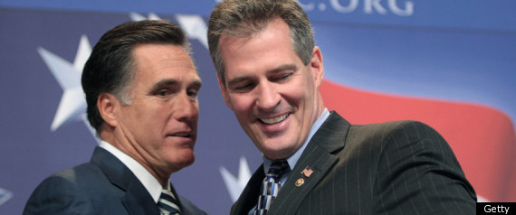 MITT ROMNEY SCOTT BROWN